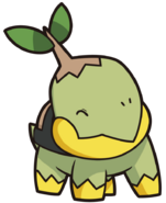 387Turtwig DP anime 11