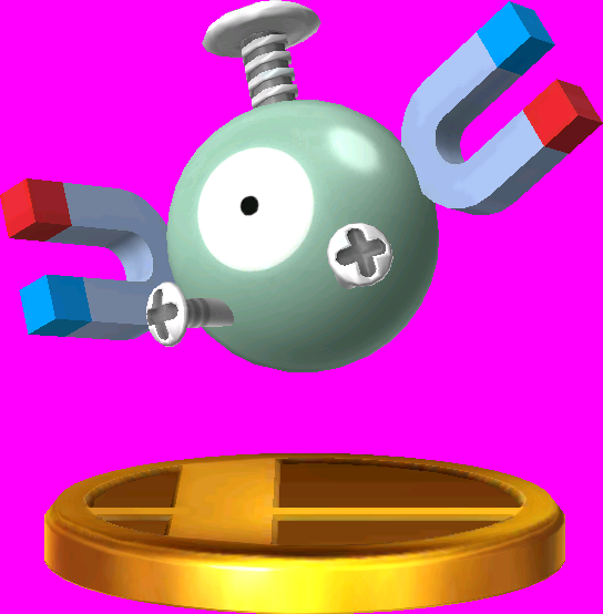 File:Magnemite trophy SSB3DS.png