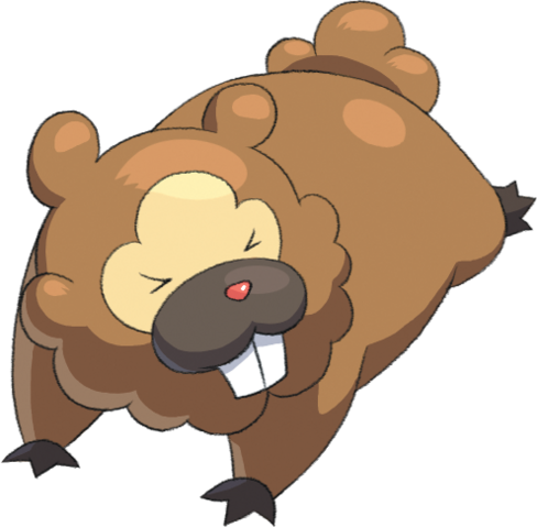 File:399Bidoof Pokemon Conquest.png
