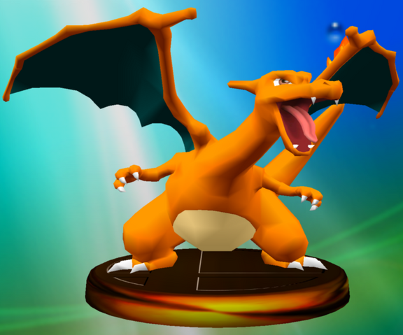 File:Charizard trophy SSBM.png