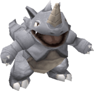 112Rhydon Pokemon Stadium