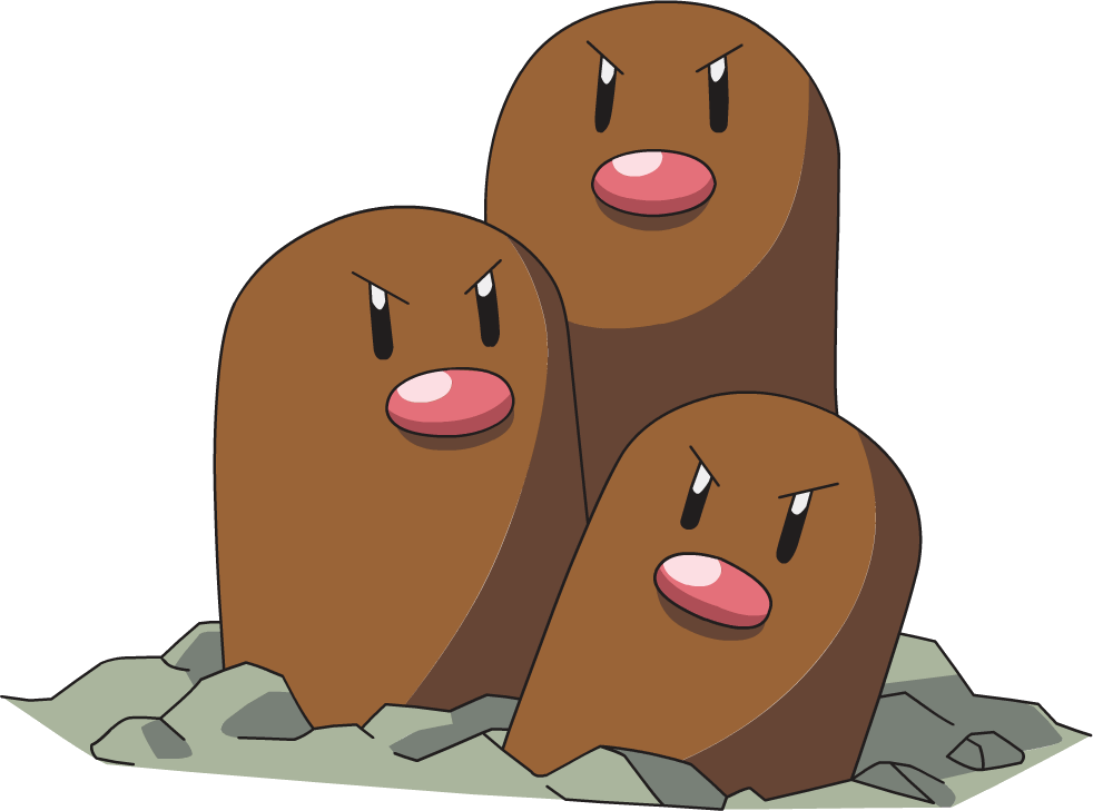 Dugtrio Pok 233 Mon Wiki Fandom Powered By Wikia