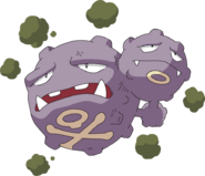 110Weezing AG anime