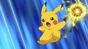 Ash's Pikachu Electro Iron Tail