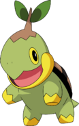 387Turtwig DP anime 5