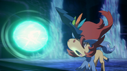 Keldeo Resolute Form Focus Blast