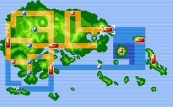 Lilycove City Map