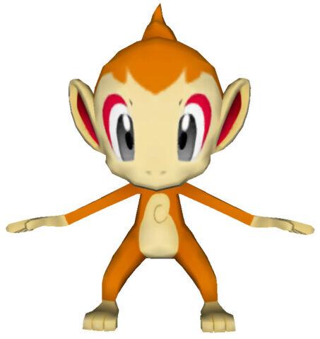 File:390Chimchar Pokémon PokéPark.jpg
