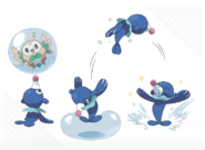 Popplio concept artwork