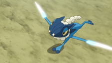 Ash Frogadier Aerial Ace
