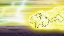 Volkner's Pikachu Volt Tackle