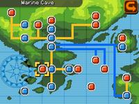 Marine Cave Map Almia