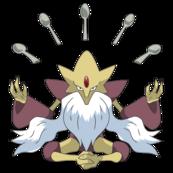 065Alakazam-Mega XY anime