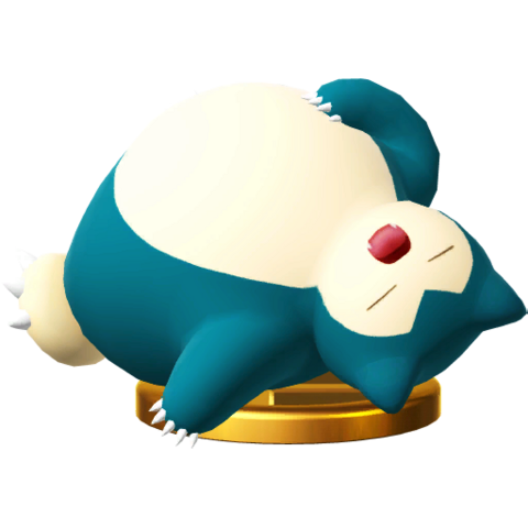 File:Snorlax trophy SSBWU.png