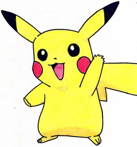 File:Say Hi Pikachu by aineyakuzaboss.jpg