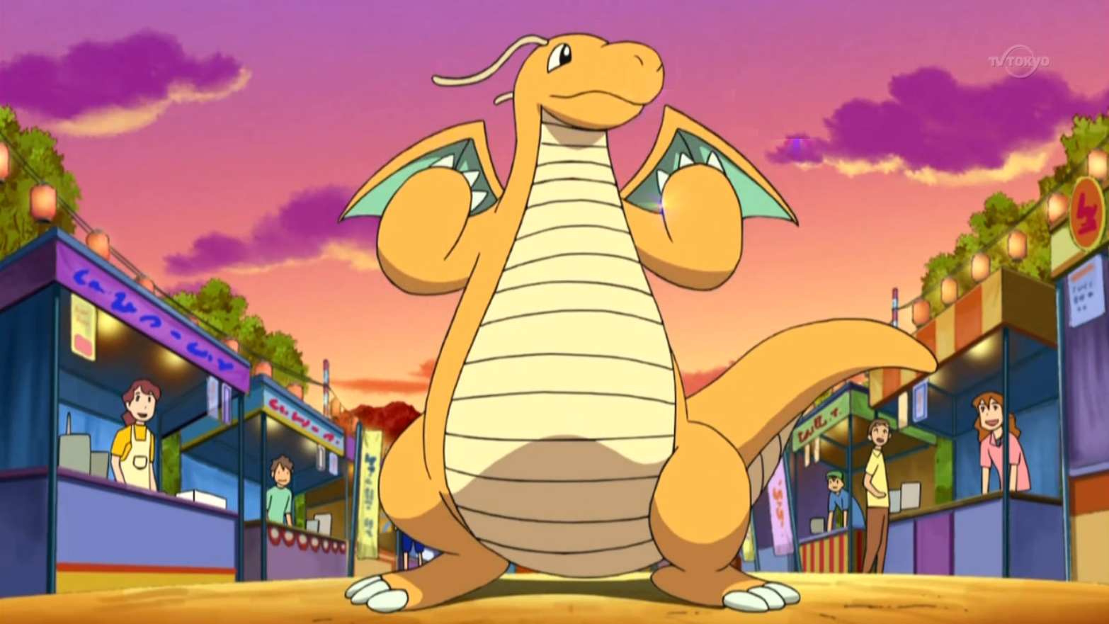 Palmer Dragonite anime