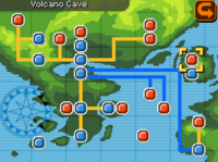 Volcano Cave Map Almia