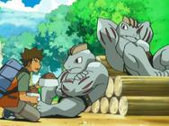Expert stonecutter Machoke