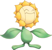192Sunflora Pokemon Mystery Dungeon Explorers of Time and Darkness