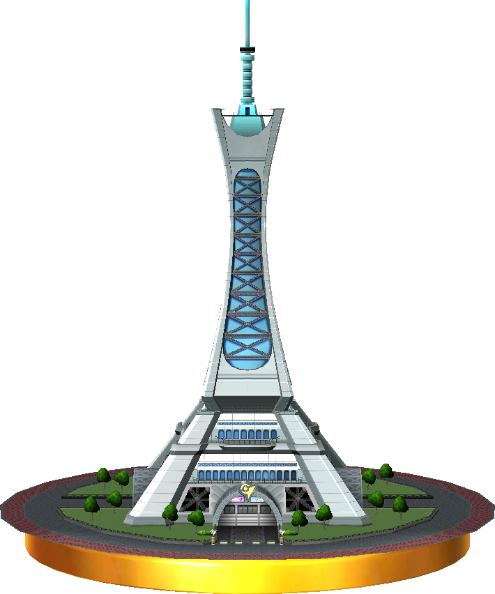 Prism Tower trophy SSB3DS