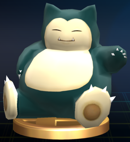 File:Snorlax trophy SSBB.png