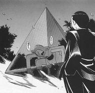Giovanni confronts Deoxys