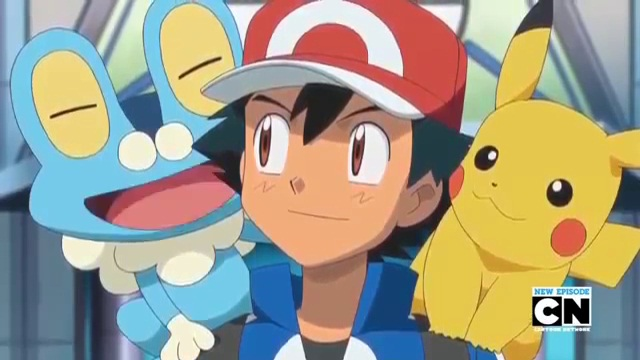 File:Froakie, Ash and Pikachu.jpg