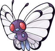 012Butterfree Pokemon Mystery Dungeon Red and Blue Rescue Teams