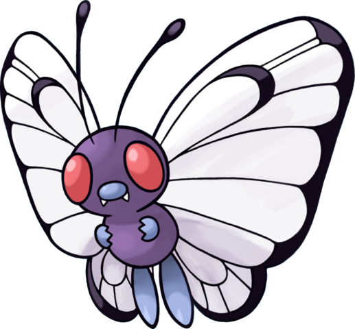 File:012Butterfree Pokemon Mystery Dungeon Red and Blue Rescue Teams.png