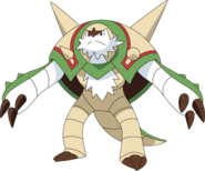 652Chesnaught XY anime