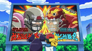 The Pokemon football uniforms