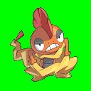 Scrafty PokemonConquestSprite