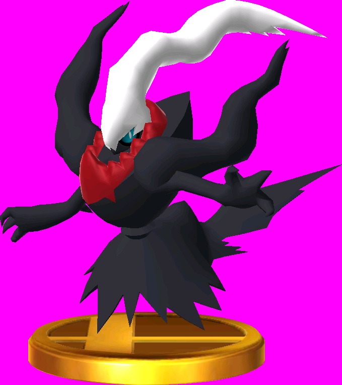 Darkrai trophy SSB3DS