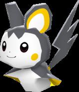 587Emolga Pokémon Rumble Blast