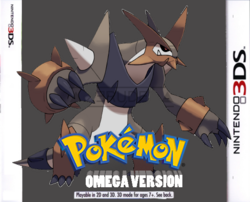 Pokémon Omega Version Boxart