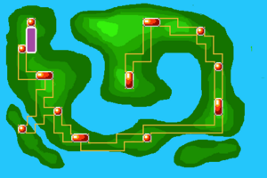 Map Route 1X