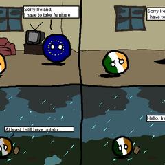 Ireland's potato