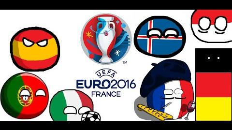 Euro 2016 in Countryballs - Part 2 From the Round of 16 to the Final