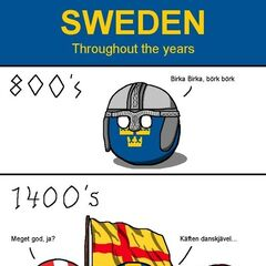 Sweden throughout the years
