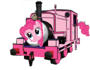 MLP Pinkie Pie as a Thomas character