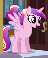 Cadance when she was younger