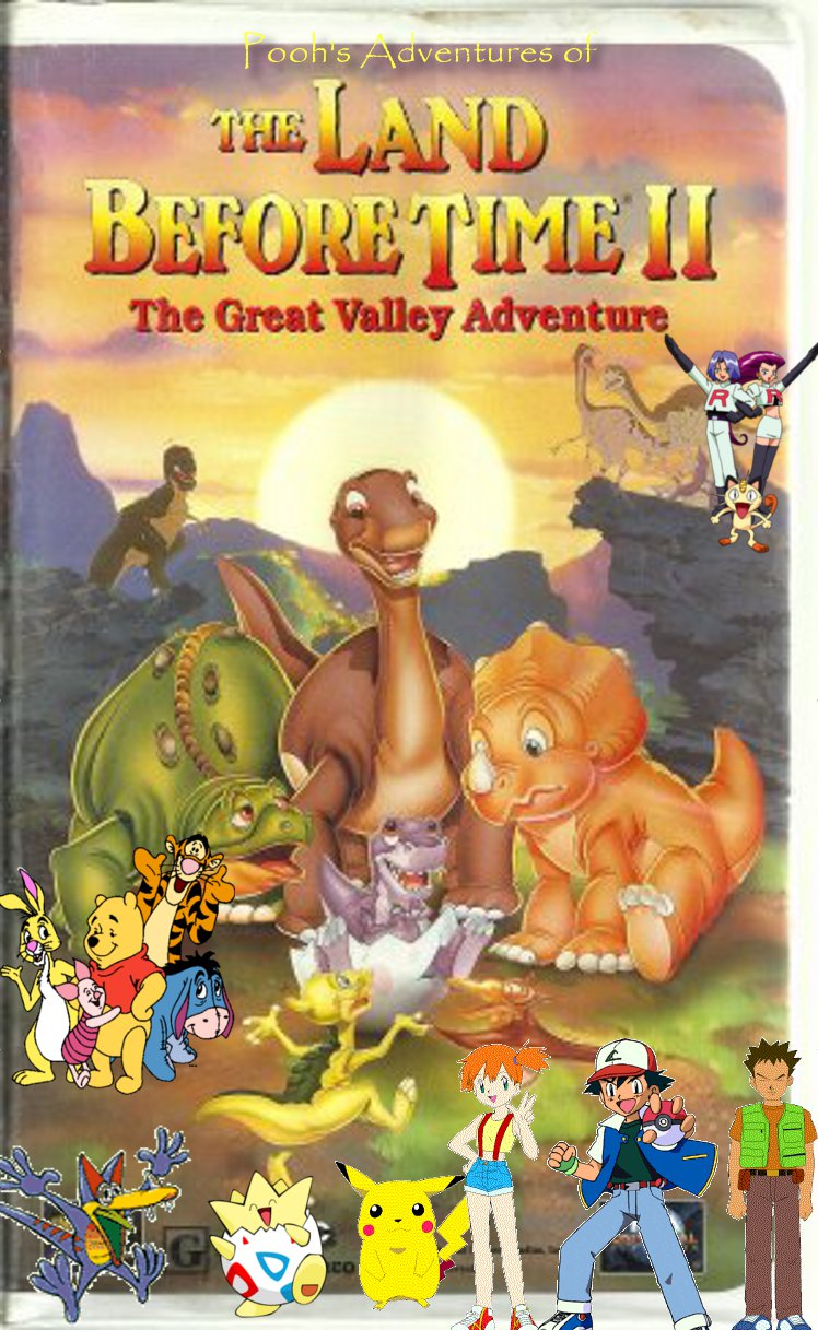 pooh u0027s adventures of the land before time ii the great valley