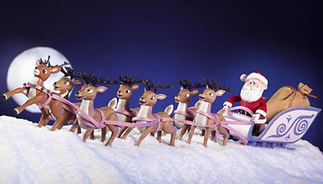 Image result for santa's reindeer