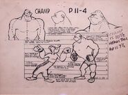 Punch and Judo Model Sheet