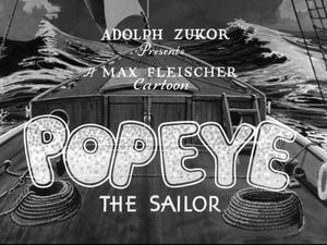 Popeye title card