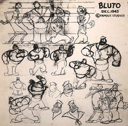 Bluto Model Sheet 1943