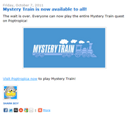 Mystery Train is Now Available to All