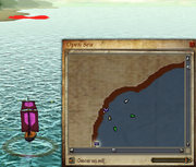 French Folly of Man Map OS mark