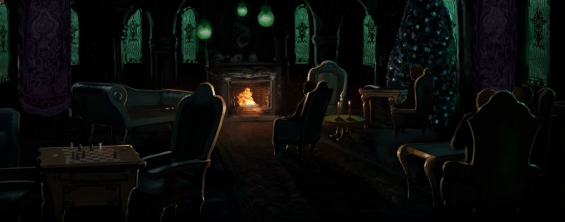 The Slytherin Common Room Pottermore Wiki Fandom