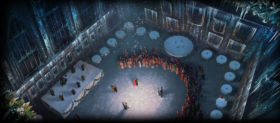 The Yule Ball Pottermore Wiki Fandom Powered By Wikia